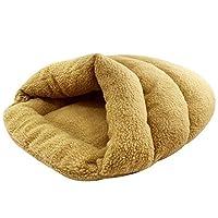 KuangfuMall ペットボルスター犬ベッドコンフォートコットンは洗えるクッション犬小屋猫巣することができます (Color : B, サイズ : 50*60cm)