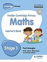 Hodder Cambridge Primary Maths Learner's Book 1