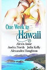 One Week in Hawaii Paperback