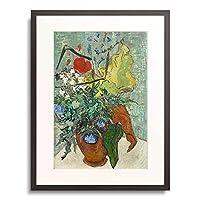フィンセント・ファン・ゴッホ Vincent Willem van Gogh 「Bouquet of Wild Flowers.」 額装アート作品