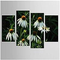 ホット4ピース/セット美しい花の壁アート壁の装飾家の装飾キャンバスにキャンバス印刷絵画-30x60x2 30x80cmx2-フレームなし