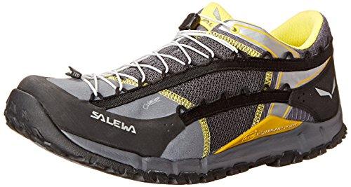 [해외]사레와 (SALEWA) 남성 MS SPEED ASCENT GTX 903 (Black | Yellow) 00-0000063425/SALEWA (SALEWA) Men`s MS SPEED ASCENT GTX 903 (Black | Yellow) 00-0000063425