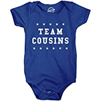 Creeper Team Cousins Baby Bodysuit Family Reunion Jumper For Newborn