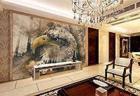 Yosot カスタム壁紙3D壁のリビングルームのソファのテレビの壁画壁レトロなヴィンテージの壁紙3Dの壁紙-200Cmx140Cm