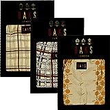(ダックス)DAKS 日本製 メンズ ロング パンツ 前開き ステテコ 紳士  (ベージュ系デザイン,LLサイズ)