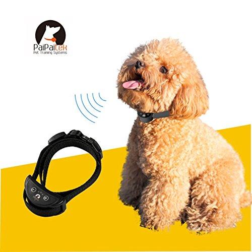 OURI258無駄吠え防止首輪 リチウム電池式 循環充電 トレーニング 愛犬訓練 小犬S ブラック