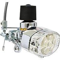 丸善(MARUZEN) Mag Boy [MLA-8-RL-O] LED ホワイト6灯オレンジ2灯 リモートレバー装備 発電ランプ