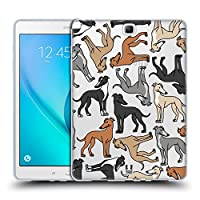 Head Case Designs イタリアン・グレイハウンド ドッグブリード・パターン8 Samsung Galaxy Tab A 9.7 専用ソフトジェルケース