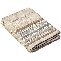 Saturday Knight Colorware Stripe Hand Towel, Neutral [並行輸入品]