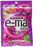 味覚糖 e-maのど飴 グレープ袋 50g×6袋