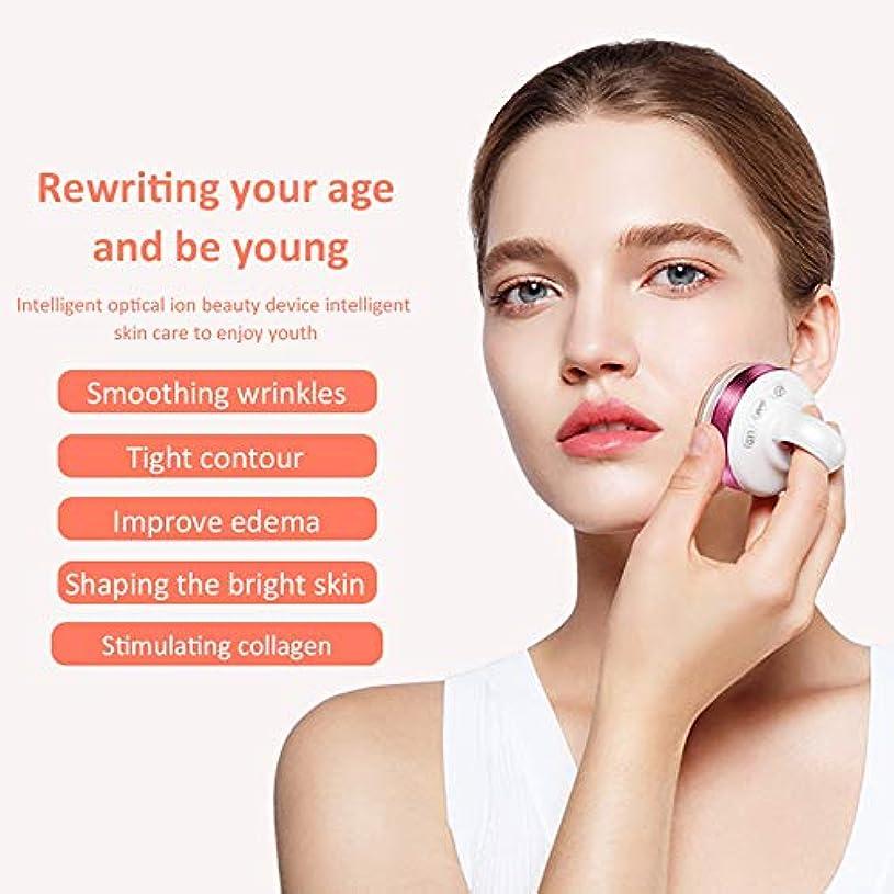 より良い標高ブランド顔と体のプロフェッショナルのためのRfマシン、EMSマッサージャー、ハンドヘルドフェイシャルイオン導入機器、家庭用美容機器振動機器,Purple