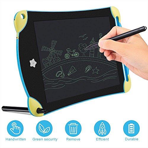 [해외]EGRD 전자 수첩 Cartoon 버전 전자 패드 메모 용 내충격 스마트 노트북 LCD 평면 디지털 메모장 펜 포함 필담 보드 공부 | 어린이의 ?板 & 장난감 | 협의 | 전보국 | 메모 잡기 | 가계부 | 청각 보조 | 등에 적용 인기 선물 8.5 인치 /EGRD electron...