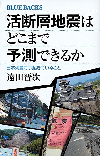 活断層地震はどこまで予測できるか 日本列島で今起きていること (ブルーバックス)の詳細を見る