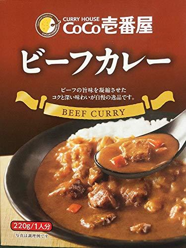 CoCo壱番屋 レトルトビーフカレー(5個入)