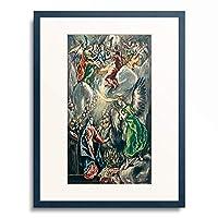 エル・グレコ El Greco 「Annunciation 1696」 額装アート作品
