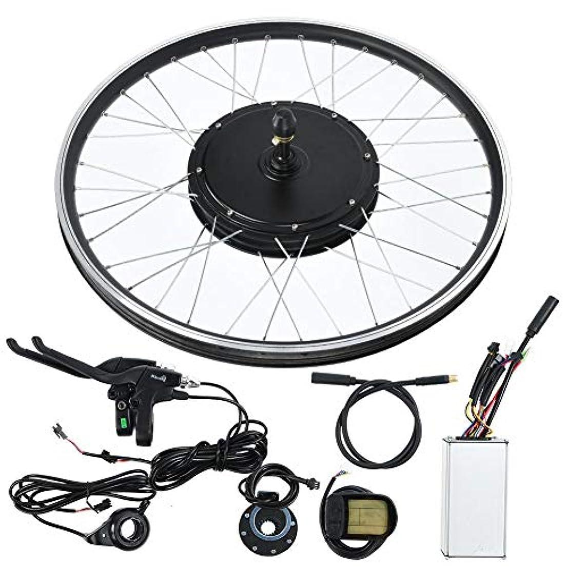 マニアック主権者前兆電動自転車キット、20インチホイール48V 1000W KT-LCD5ディスプレイ計器E-バイク変換キット強力なコントローラー付きハイパワーモーターコントロールキット、マウンテンバイク用防水ワイヤー