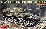 ミニアート 1/35 T-34-85 チェコスロバキア製 初期型 プラモデル MA37085