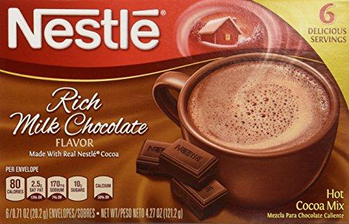 ネスレ リッチ ミルクチョコレート ホットココア ミックス 6袋入 121g