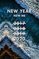 New Year New Me: Blank Lined Journal Notebook, Size 6x9, Gift Idea for Boss, Employee, Coworker, Friends, Office, Gift Ideas, Familly, Entrepreneur: Cover 6, New Year Resolutions & Goals, Christmas, Birthday