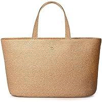 Eric Javits Luxury Fashion Designer Women's Handbag - Sinclair Tote - Peanut