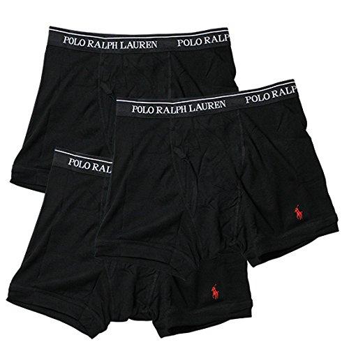(ポロラルフローレン) CLASSIC FIT COTTON 3 TRUNKS (ボクサーパンツ/男性下着) ブラック M