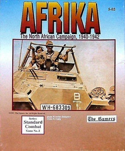 Gamers : Afrika、北アフリカ、1940–42ボードゲーム、1st Edition