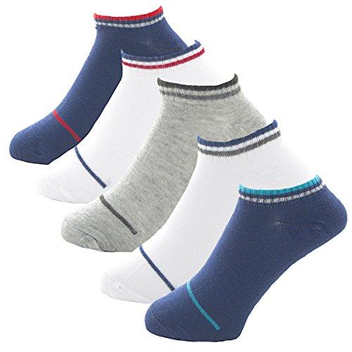[FREESE] 靴下 メンズ ソックス 5足セット ビジネス カジュアル くるぶし スポーツ ショート 紳士 25cm-27cm