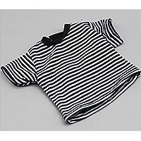 HuaQingPiJu-JP 18インチアメリカ人形Tシャツ(ブラック)