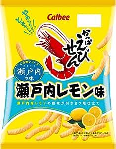 カルビー かっぱえびせん 瀬戸内レモン味 70g×12袋