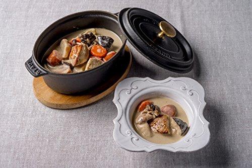 Les enfants gates(レザンファン ギャテ) 地鶏ときのこのフレンチ・ポタージュ鍋、トリュフの香り