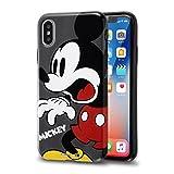 iPhone X/iPhone Xs ケース ディズニー キャラクター/TPUソフトケース Colorap/ミッキー IN-DP8CP1/MK