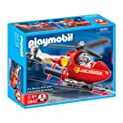 Playmobil(プレイモービル) Fire Rescue Helicopter 消防ヘリコプター 5842 【並行輸入品】