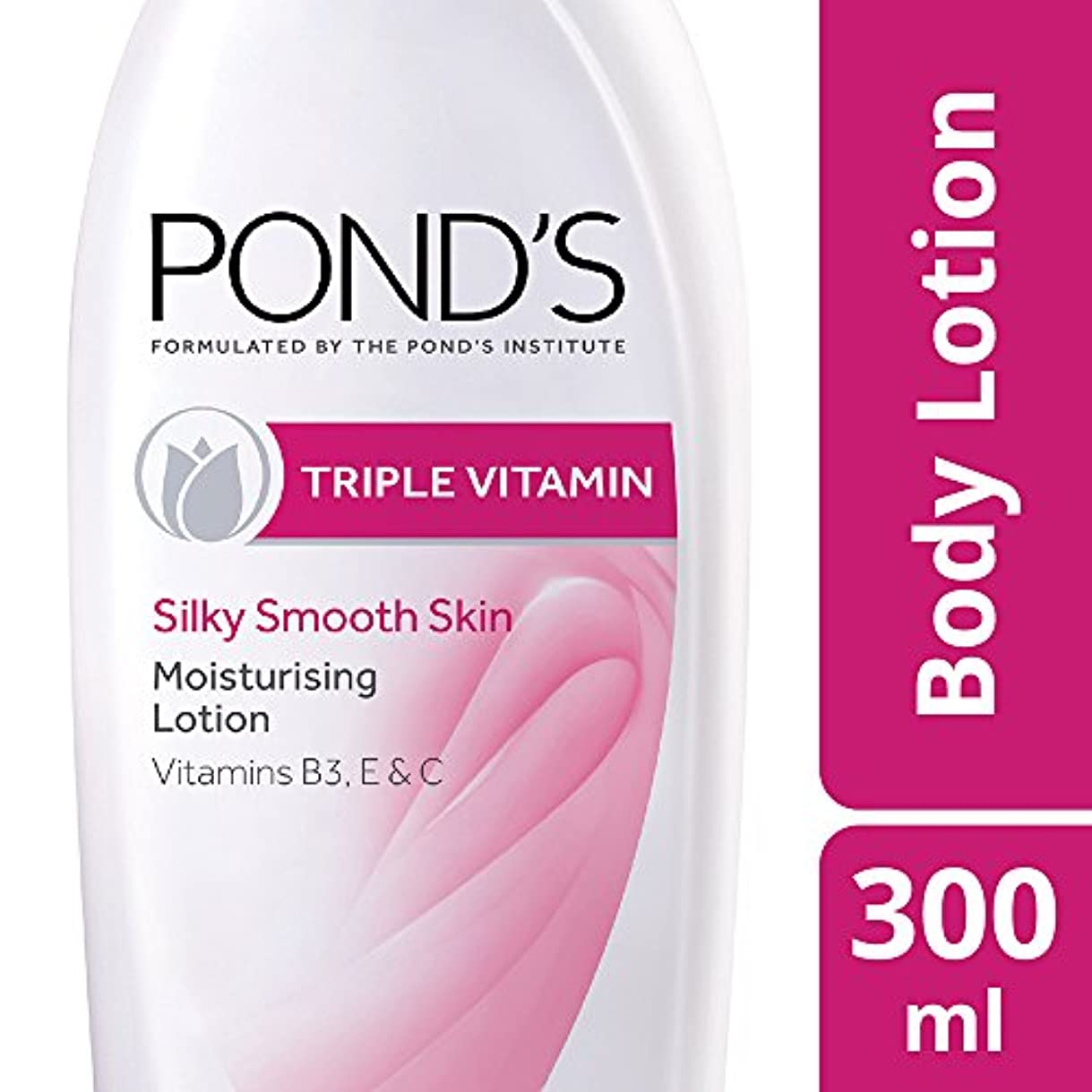 列車錆びバラバラにするPond's Triple Vitamin Moisturising Body Lotion, 300ml
