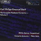 C・P・Eバッハ:チェンバロ協奏曲全集 Vol.3