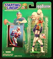 TERRY GLENN / NEW ENGLAND PATRIOTS 1998 NFL Starting Lineup Action Figure & Exclusive NFL Collector Trading Card