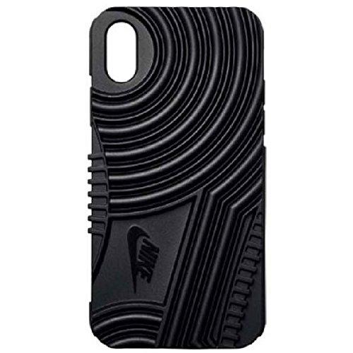 アイフォンケース iPhoneX 10 ナイキ NIKE エアフォース1 フォンケース iPhoneX専用 携帯電話 スマートフォン スマホ アイフォーン カバー アクセサリー AIR FORCE 1/DG0025 001ブラック