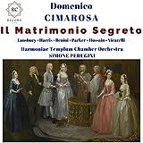 Il Matrimonio Segreto, Act I Scene 12: Tu mi dici che del Conte