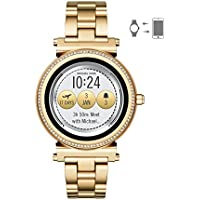 Michael Kors Women's MKT5021 Smart Digital Gold Watch