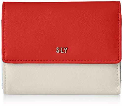 [スライ] 三つ折り財布 Color Brocking s09806207