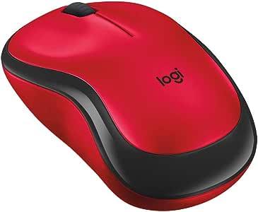 Logicool ロジクール M220RD ワイヤレスマウス 無線 静音 小型 電池寿命最大18ケ月 M220 レッド 国内正規品 3年間無償保証