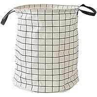 大容量収納袋 キャンバス 洗濯バスケット収納ボックス 水汲み 軽量 丈夫 便利