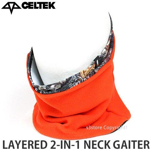 CELTEK(セルテック) ユニセックス ネックウォーマー LAYERED 2N1 NECK GAITER 16-17 Backwoods [並行輸入品]