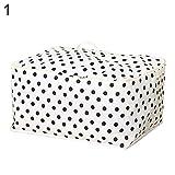 Opla3Ofx Hand-Held Quilt Clothes Storage Bag Organizer Large Capacity Travel Luggage Foldable Canvas Laundry Hamper Bucket 1