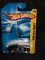 Mattel Hot Wheels 2008 New Models Series 1:64 Scale Die Cast Metal Car # 8 of 40 - Black Luxury Exotic Coupe Corvette