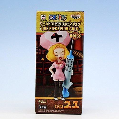 キルコ (ワンピース ワールドコレクタブルフィギュア ONE PIECE FILM GOLD vol.3 アニメ グッズ プライズ バンプレスト)