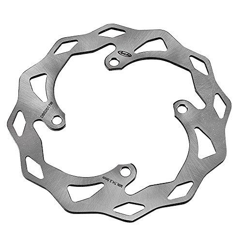 GZYF バイク用 リア ウェーブタイプ ブレーキ ディスクローター 対応車種:カワサキ KX250(F)/KLX450R/KX450F & スズキ RMZ250
