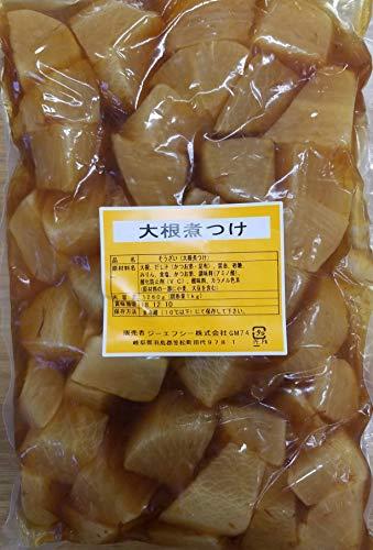 惣菜 大根煮つけ 1260g(固形1kg)×10P(P1,080円)冷蔵 業務用