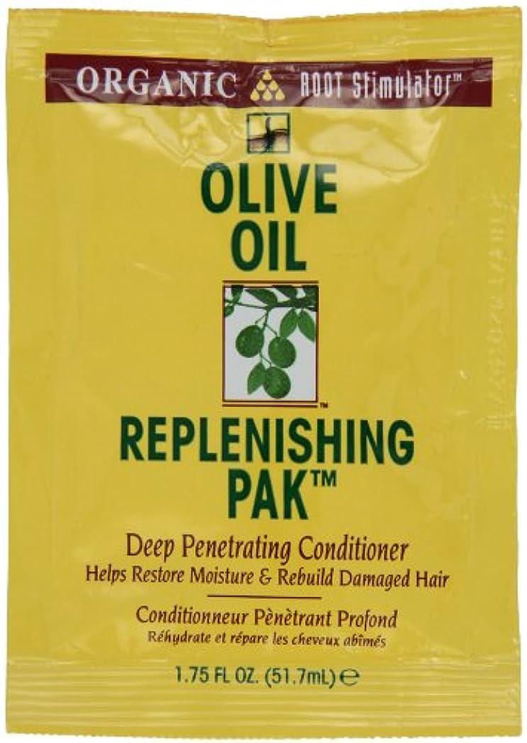 ワークショップ孤児補充オリーブオイル髪いたわりコンディショナーパック (12個) (並行輸入品)