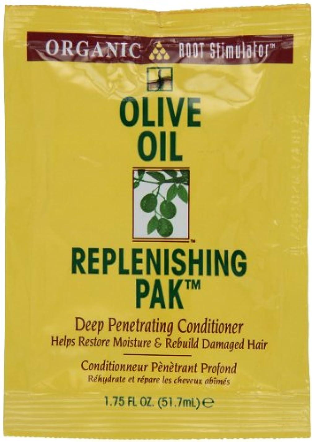 気球安価な生き返らせるオリーブオイル髪いたわりコンディショナーパック (12個) (並行輸入品)