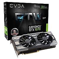 【国内正規品】 EVGA GeForce GTX 1070 FTW DT GAMING ACX 3.0 グラフィックボード 08G-P4-6274-KR
